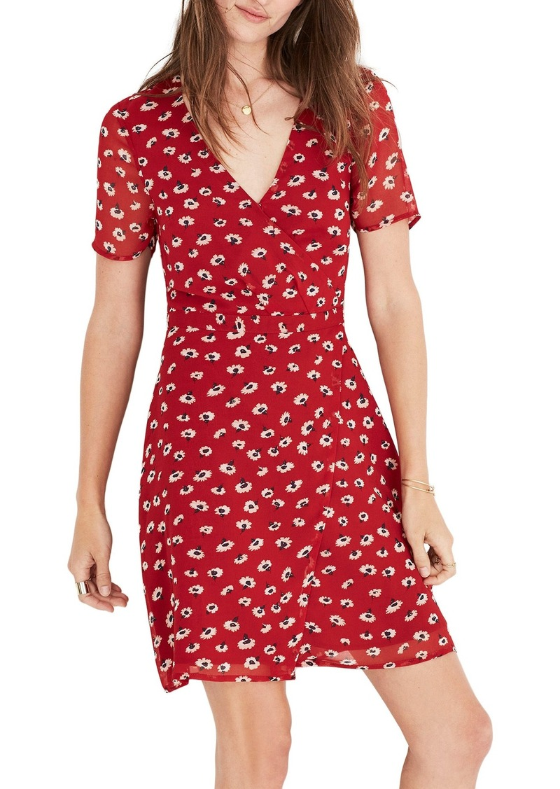 b820c2aa261 Madewell Madewell Floral Faux Wrap Dress