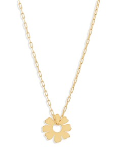 Madewell Flower Charm Necklace
