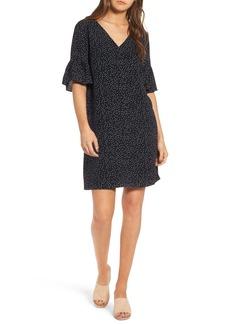 Madewell Flutter Sleeve Dress