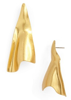 Madewell Folded Earrings