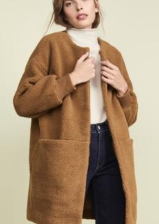 Madewell Frisee Sherpa Coat