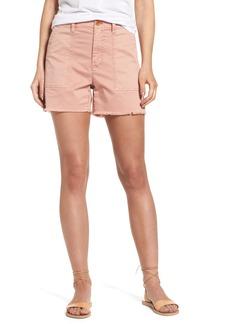 Madewell Garment Dye High Waist Shorts