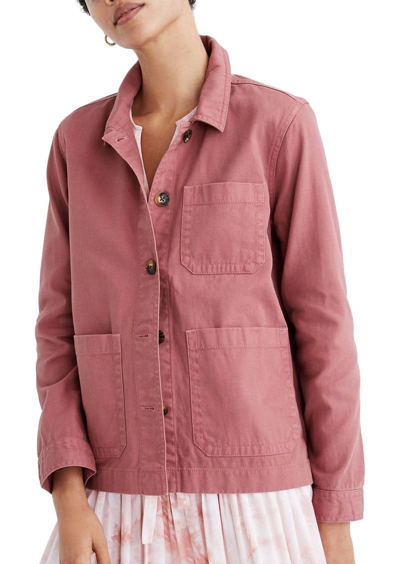 Madewell Garment Dyed Ashwood Chore Coat