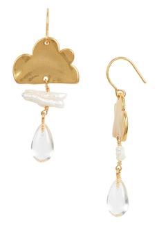 Madewell Genuine Pearl Cloudcover Earrings