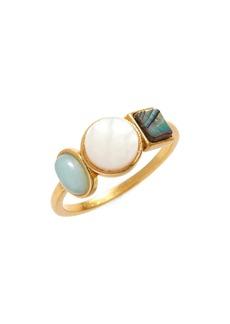 Madewell Geo-Stone Ring