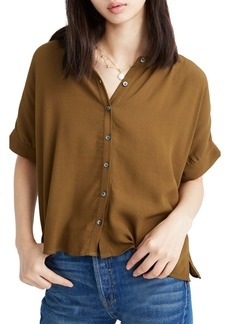 Madewell Getaway Oversize Button-Down Shirt