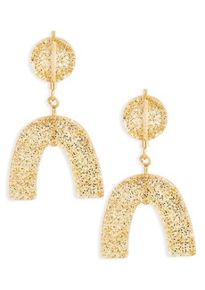 Madewell Glitter Shapes Statement Earrings