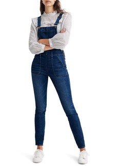 Madewell Groveland Wash Skinny Overalls