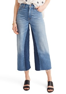 Madewell Gusset Crop Wide Leg Jeans (Jerry)