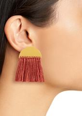 Madewell Halfmoon Fringe Earrings