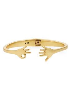 Madewell Hand Jive Hinge Cuff Bracelet