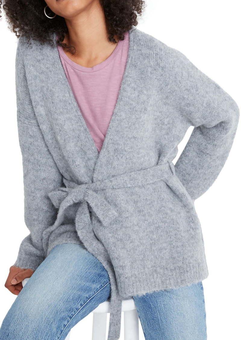 Madewell Harmon Wrap Cardigan Sweater
