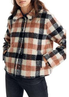 Madewell Hazlewood Faux Fur Jacket