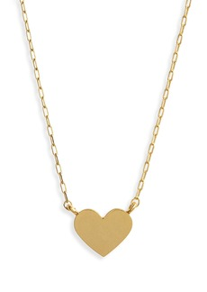 Madewell Heart Pendant Necklace