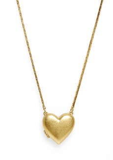Madewell Heirloom Heart Locket Necklace