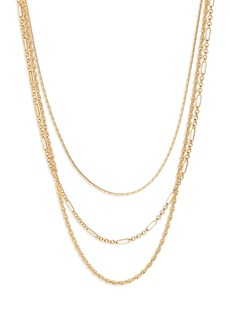 Madewell Heritage Chain Necklace Set