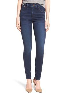 Madewell High Waist Skinny Jeans (Hayes Wash)