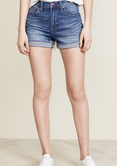 Madewell High Rise Boy Shorts