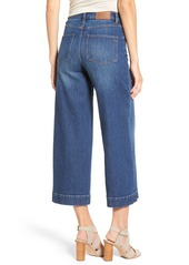 Madewell High Rise Crop Wide Leg Jeans (Colvin Wash)