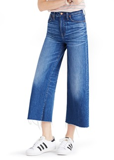 Madewell High Rise Crop Wide Leg Jeans (Frida)