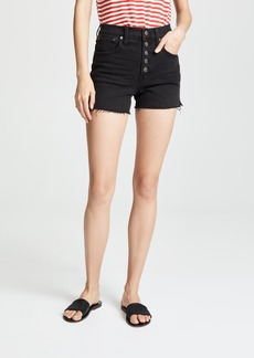 Madewell High-Rise Denim Boy Shorts