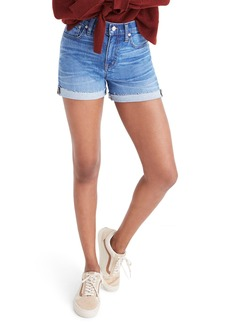 Madewell High Rise Denim Shorts (Maloney)