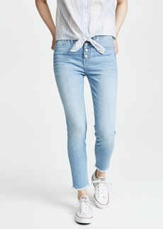 Madewell High Rise Skinny Crop Jeans