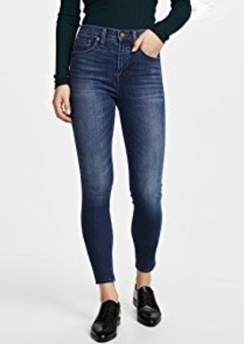 Madewell High Rise Skinny Jeans