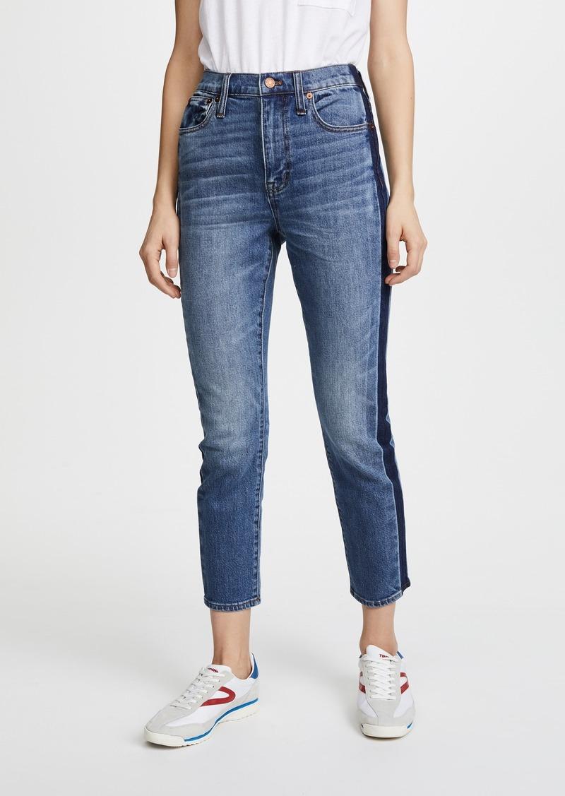 1cee882389a83b Madewell Madewell High Rise Slim Boy Jeans with Tux Stripe | Denim