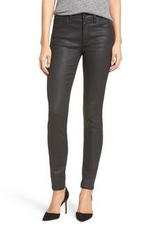 Madewell 'High Riser' Coated Skinny Jeans