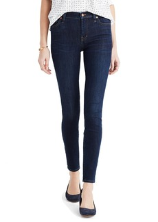 Madewell 9-Inch High Riser Skinny Skinny Jeans (Larkspur Wash)