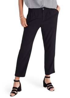 Madewell High Waist Crop Track Trousers