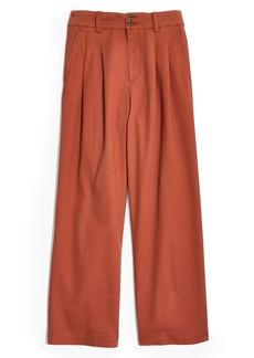 Madewell High Waist Crop Wide Leg Pants