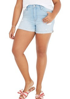Madewell High Waist Denim Cutoff Shorts (Posey)