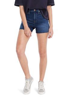 Madewell High Waist Denim Shorts (Danny Wash)