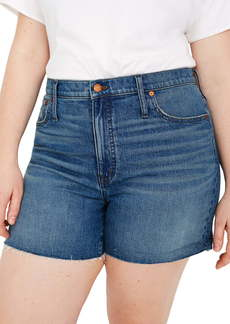 Madewell High Waist Denim Shorts (Malden Wash)