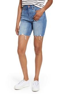 Madewell High Waist Mid Length Denim Shorts (Erwim)