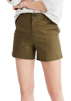 Madewell High Waist Shorts