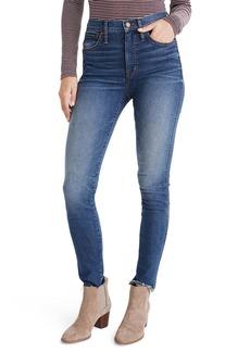 Madewell High Waist Skinny Jeans (Brockton)