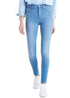 Madewell High Waist Skinny Jeans (Hank Wash)