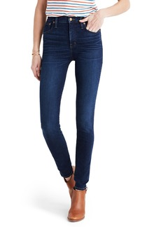 Madewell High Rise Skinny Jeans (Hayes Wash)