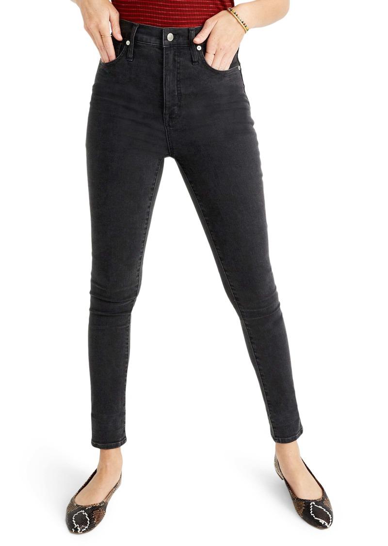 Madewell High Waist Skinny Jeans (Lunar Wash)