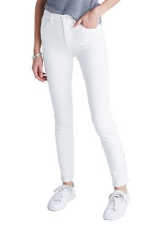 Madewell High Rise Skinny Jeans (Pure White)