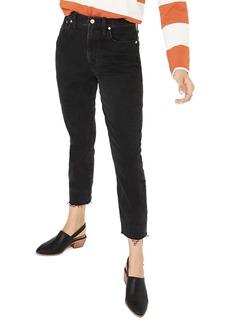 Madewell High Waist Slim Crop Boyfriend Jeans (Lunar)