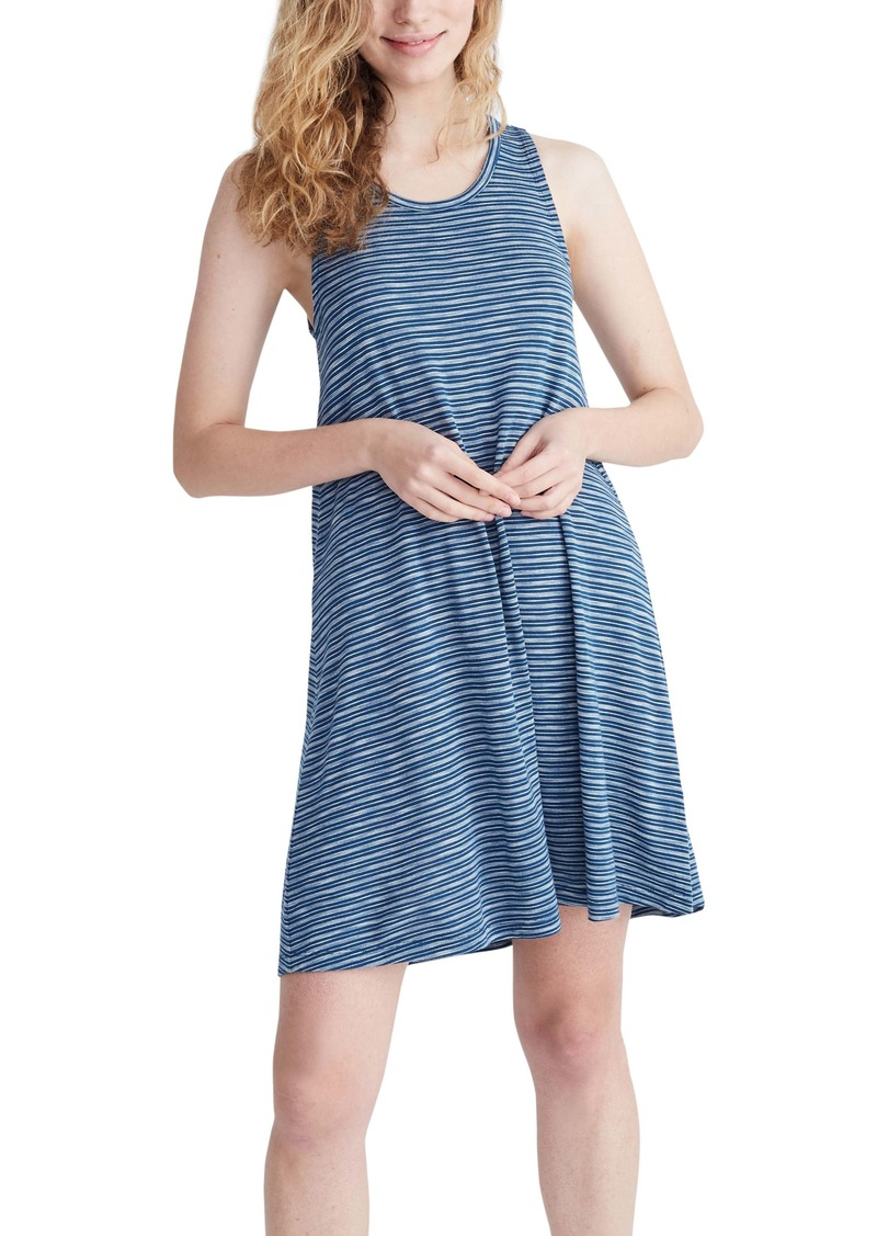 Madewell Highpoint Stripe Tank Dress