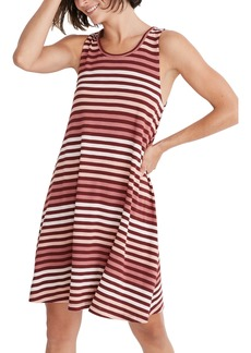 Madewell Highpoint Sulley Stripe Tank Dress