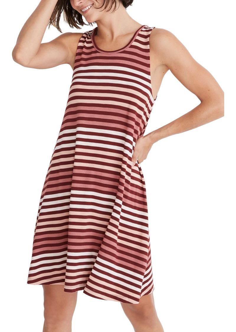 Madewell Highpoint Sulley Stripe Tank Dress