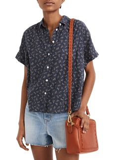 Madewell Hilltop Adorable Ditsy Shirt