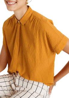 Madewell Hilltop Clip Dot Cotton Shirt