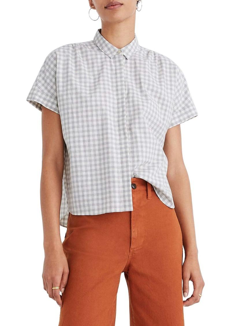 Madewell Hilltop Gingham Check Shirt